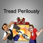 Artwork for Tread Perilously -- Doctor Who: The Unicorn and The Wasp