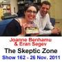 Artwork for The Skeptic Zone #162 - 26.Nov.2011