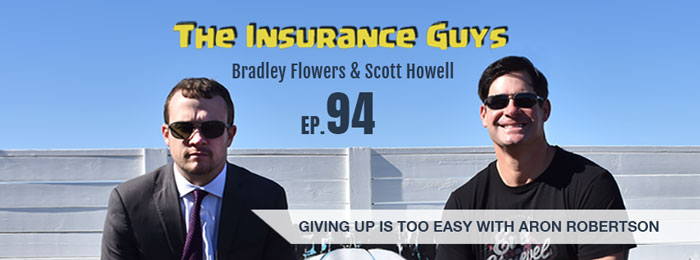 Aron Robertson on Insurance Guys Podcast