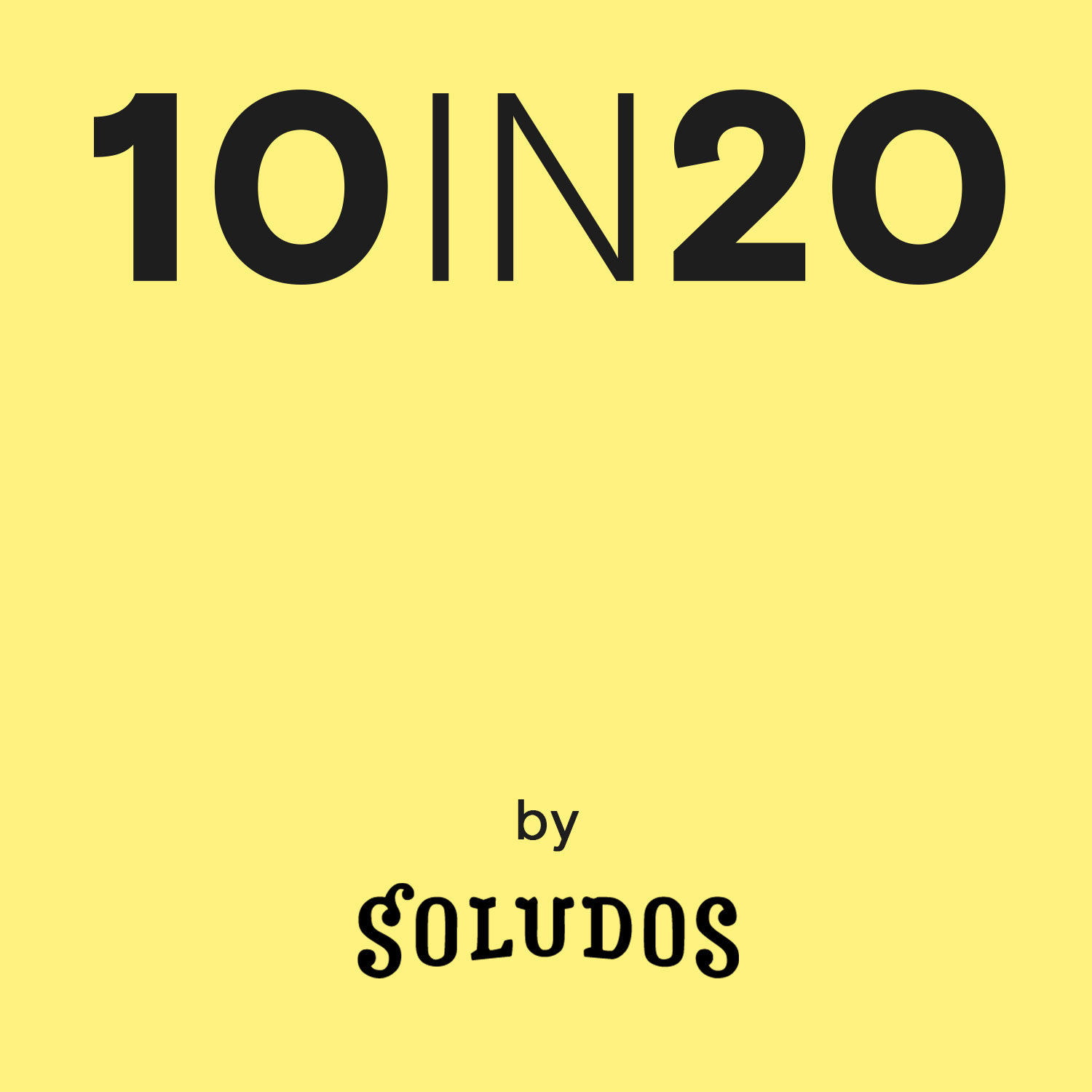 Soludos 10 in 20 with our fearless leader, Nick Brown