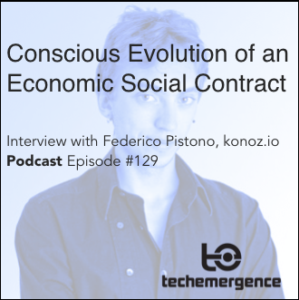 Conscious Evolution of an Economic Social Contract