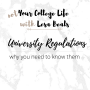 Artwork for Episode 32- University regulations. Where to find them, why you need to know them and what they mean