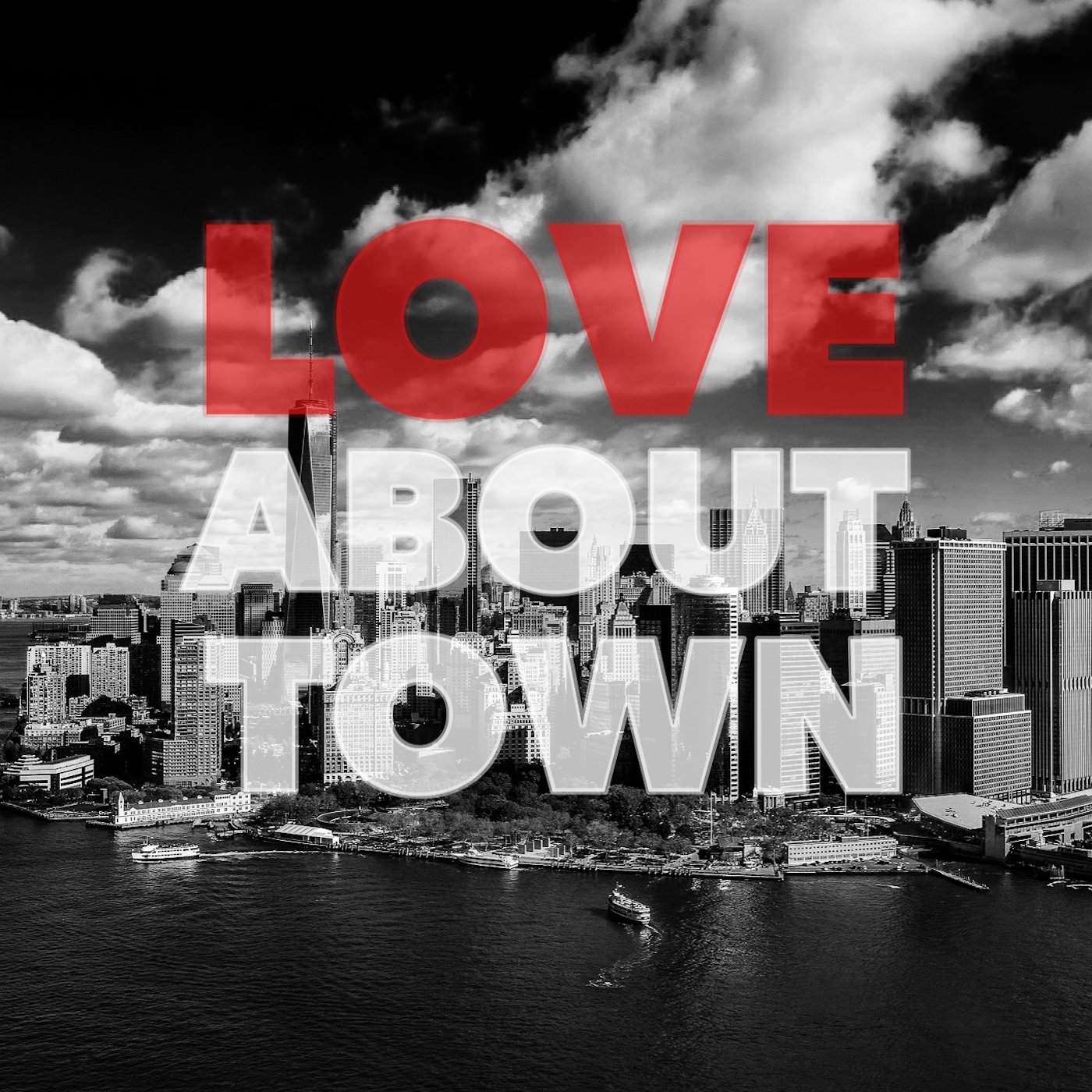 Love About Town show art