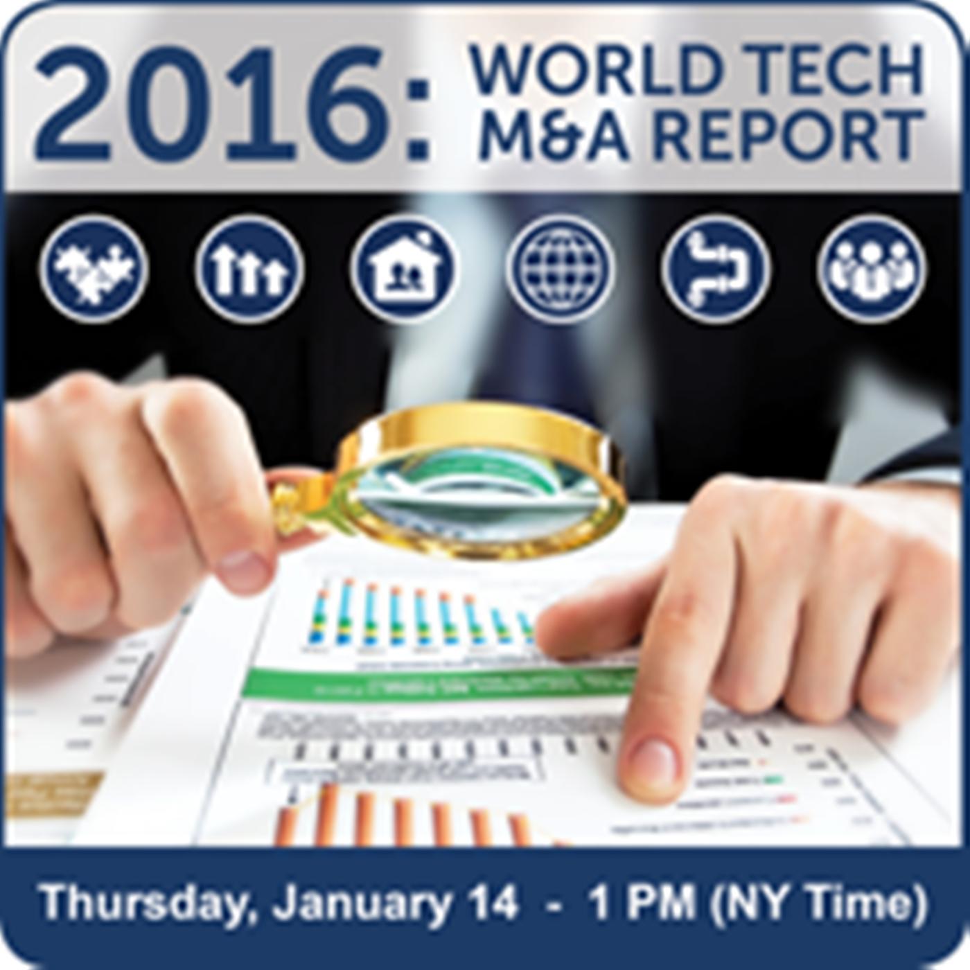 Tech M&A Annual Report - Top 10 Disruptive Tech Trends #1 & 2