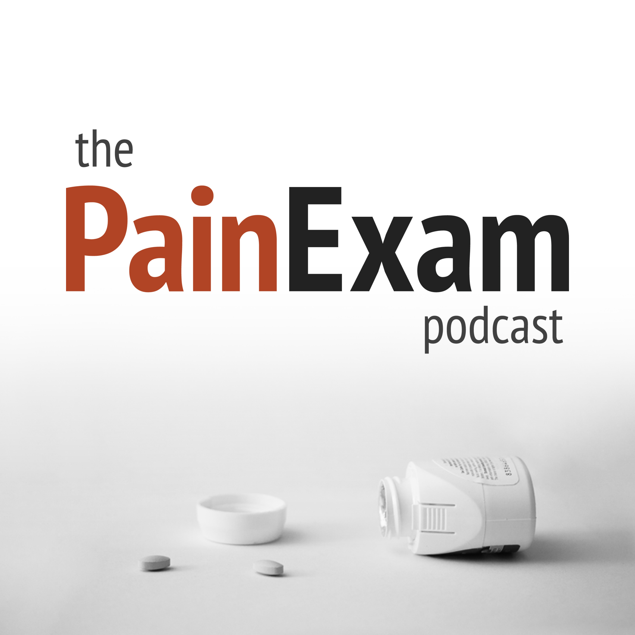 The PainExam podcast show art