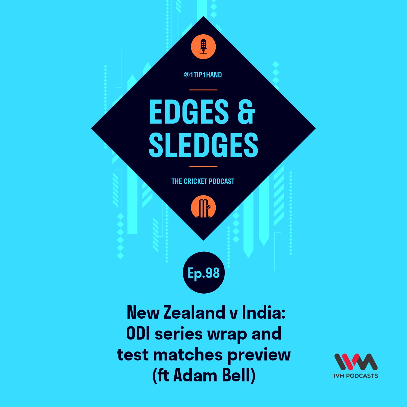 Ep. 98 New Zealand v India: ODI Series Wrap and Test Matches Preview (ft Adam Bell)