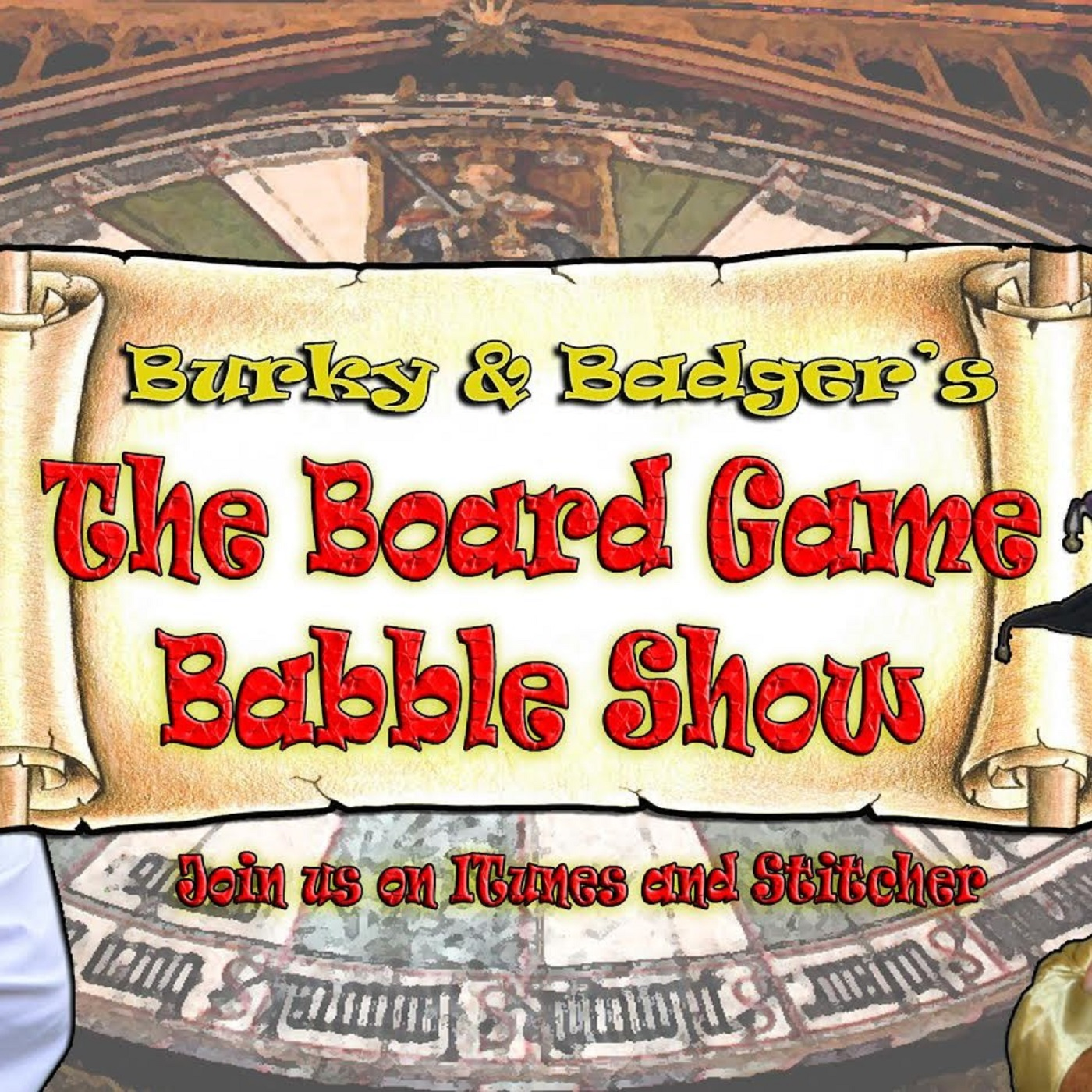 Burky and Badger's Board Game Babble Show show art