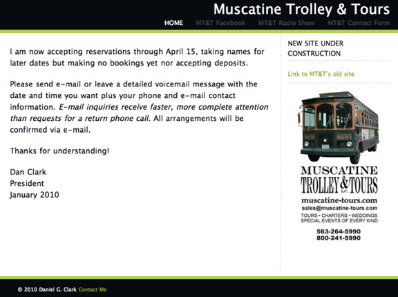 """Trolleys, Tales & Talk"" Mar. 30, 2010"