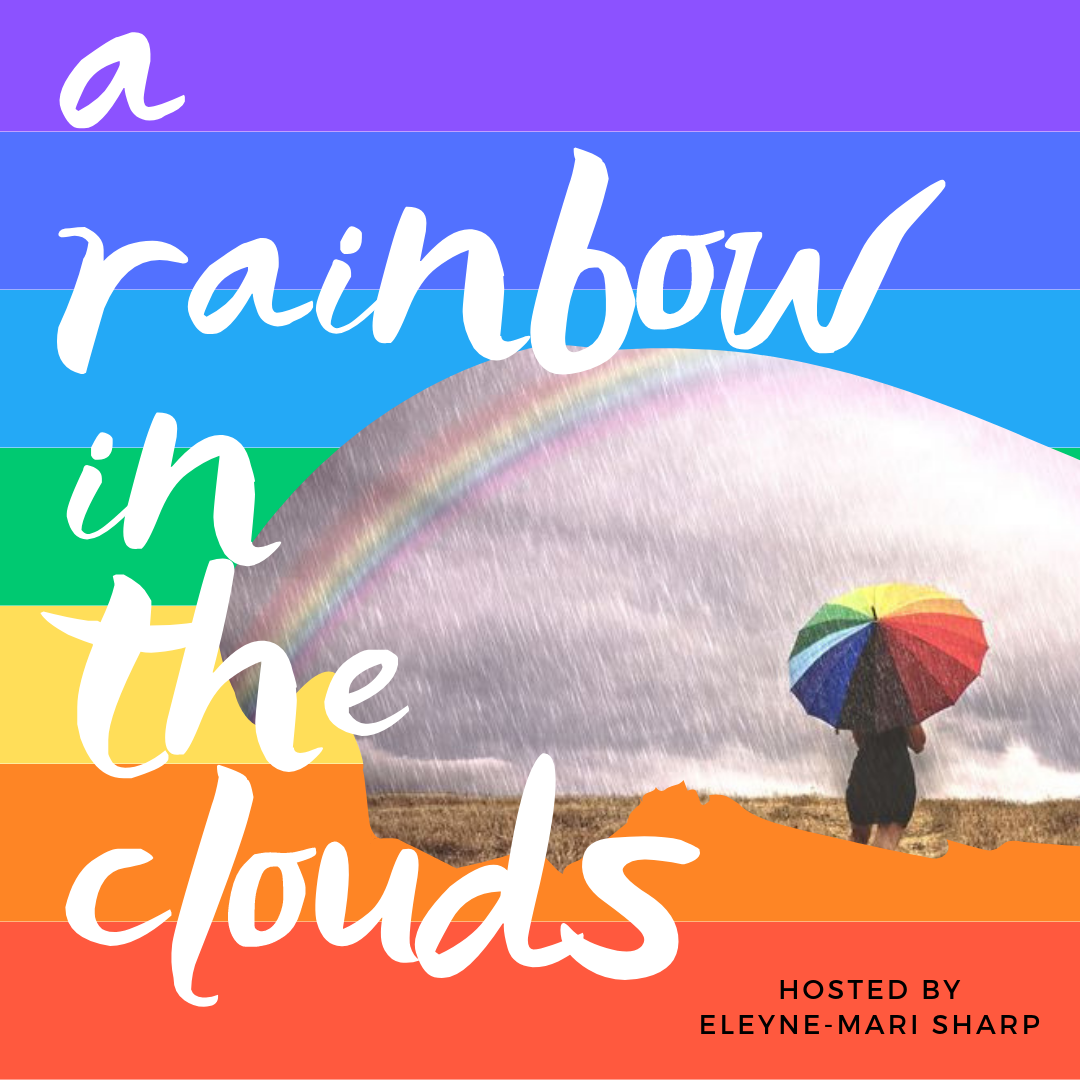 A Rainbow in the Clouds show art