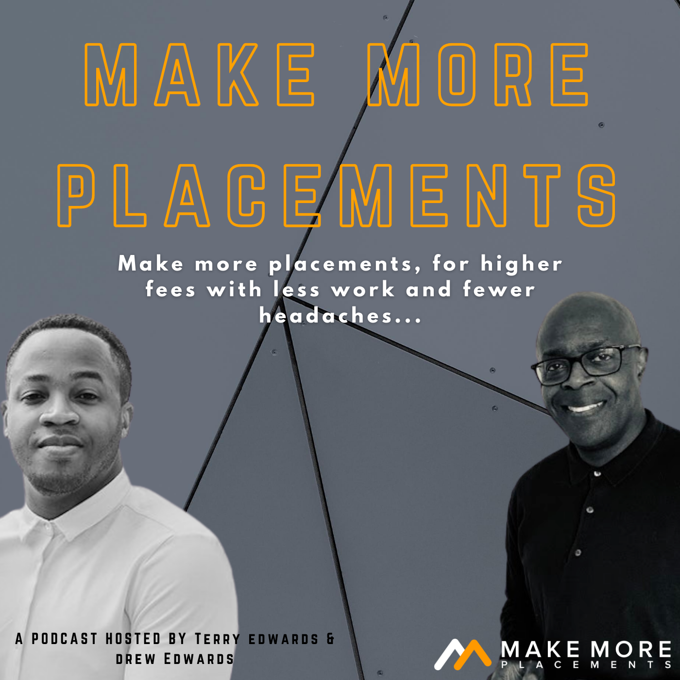 The Make More Placements Show for Recruitment & Search Business Owners   More Placements   Higher Fees   Less Work   Fewer Headaches   show art