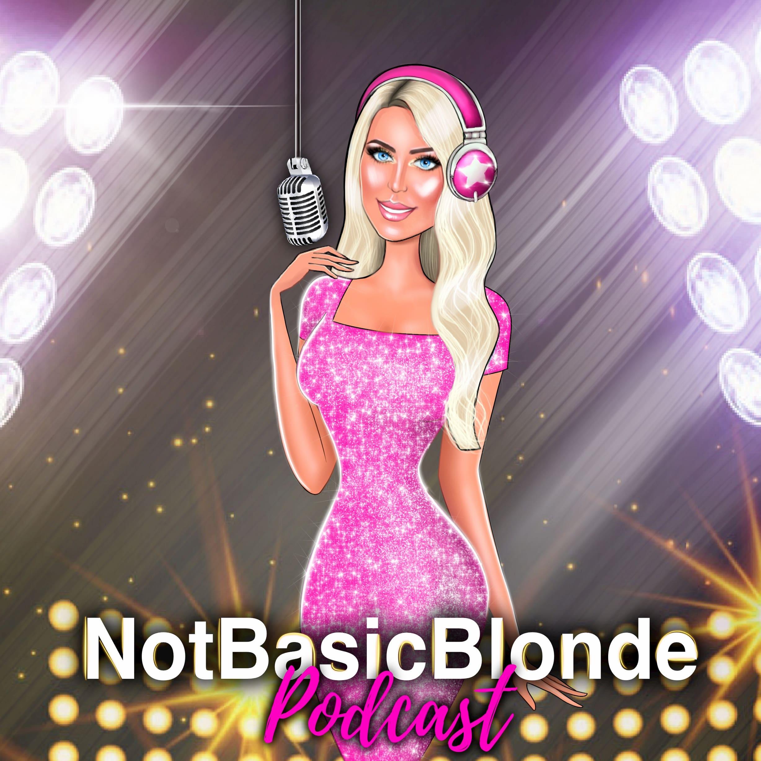 NotBasicBlonde Podcast show art