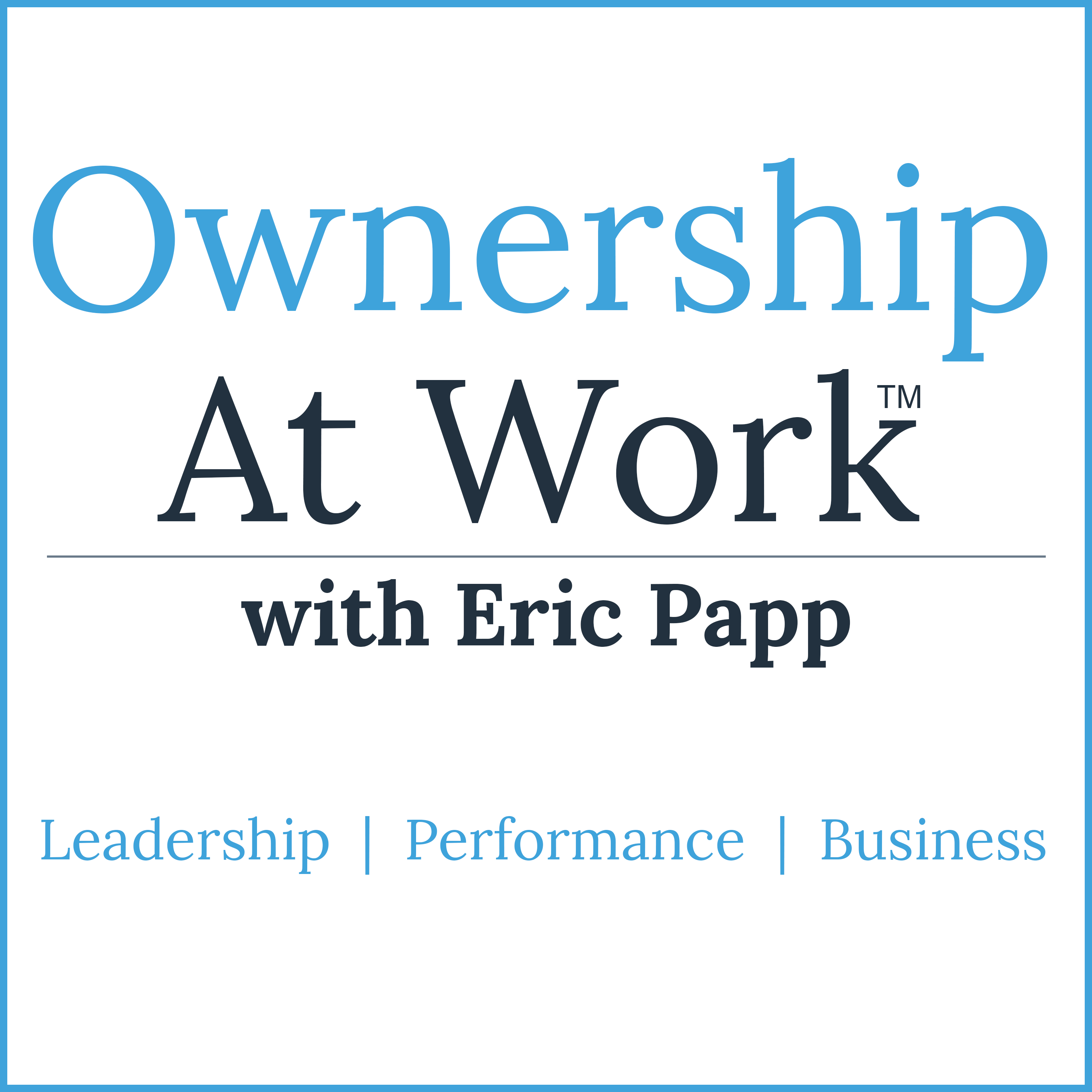 Ownership at Work: Leadership Training| Increase Performance | Improve Productivity | Effective Communication | Build Teams show art