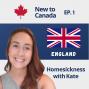Artwork for Homesickness | Kate from England
