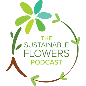 The Sustainable Flowers Podcast show art