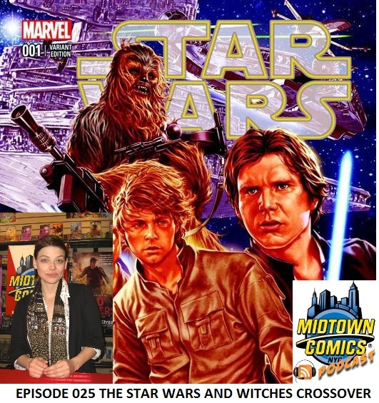 Episode 025 The Star Wars and Witches Crossover with Guests Jason Aaron, John Cassaday and Amber Benson (fixed version)