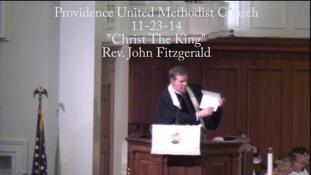 "Traditional Sermon ""Christ The King"""