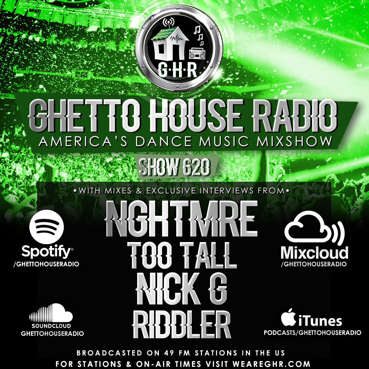 GHR - Show 620 - NGHTMRE & More!