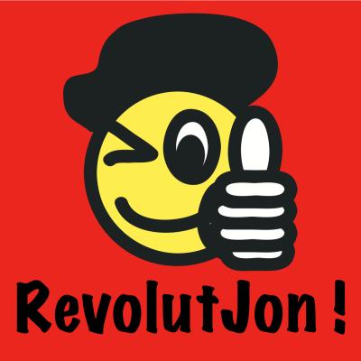 RevolutJon | En podcast om arbejdsglæde, ledelse, virksomhedskultur og det gode liv show image