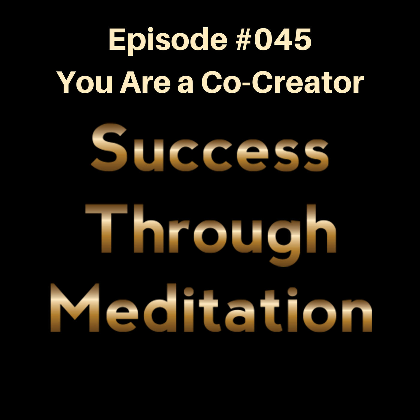 Episode #045 - You Are a Co-Creator