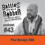 Artwork for #43 - Paul Savage OBE