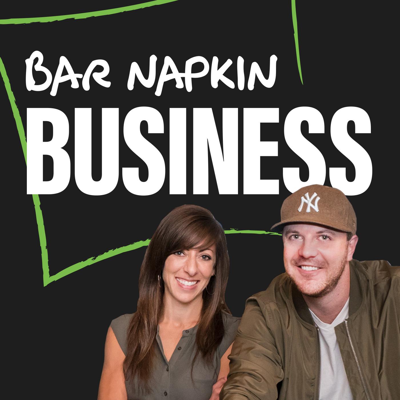 Bar Napkin Business show art
