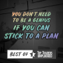 Artwork for Best of TTU – You Don't Need To Be A Genius If You Can Stick To A Plan