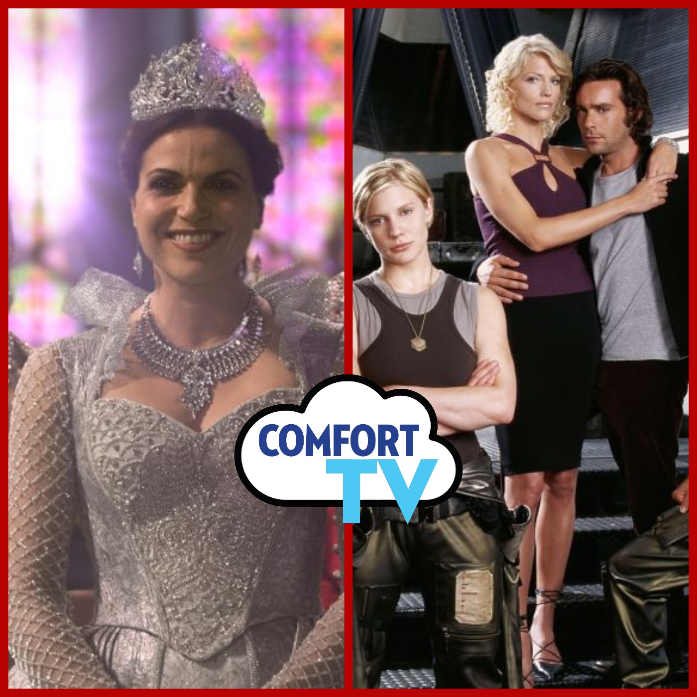 COMFORT TV: Once Upon a Time, Battlestar Galactica, and More!