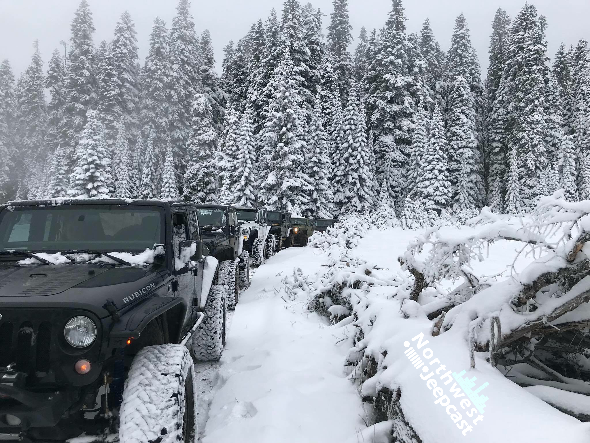 Northwest Jeepcast - A Jeep Podcast - Naches Trail snow run