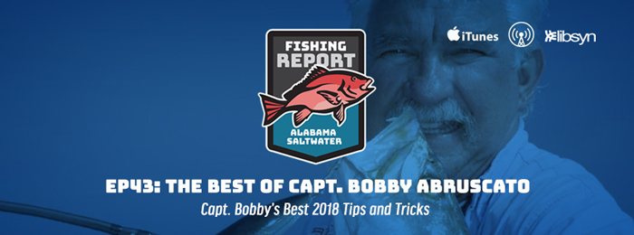 Alabama Saltwater Fishing Report | Ep43 | Best of Capt. Bobby Abruscato | 2018 Special
