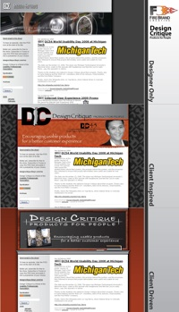DC65b Three Iterations of Blog Redesign Discussed