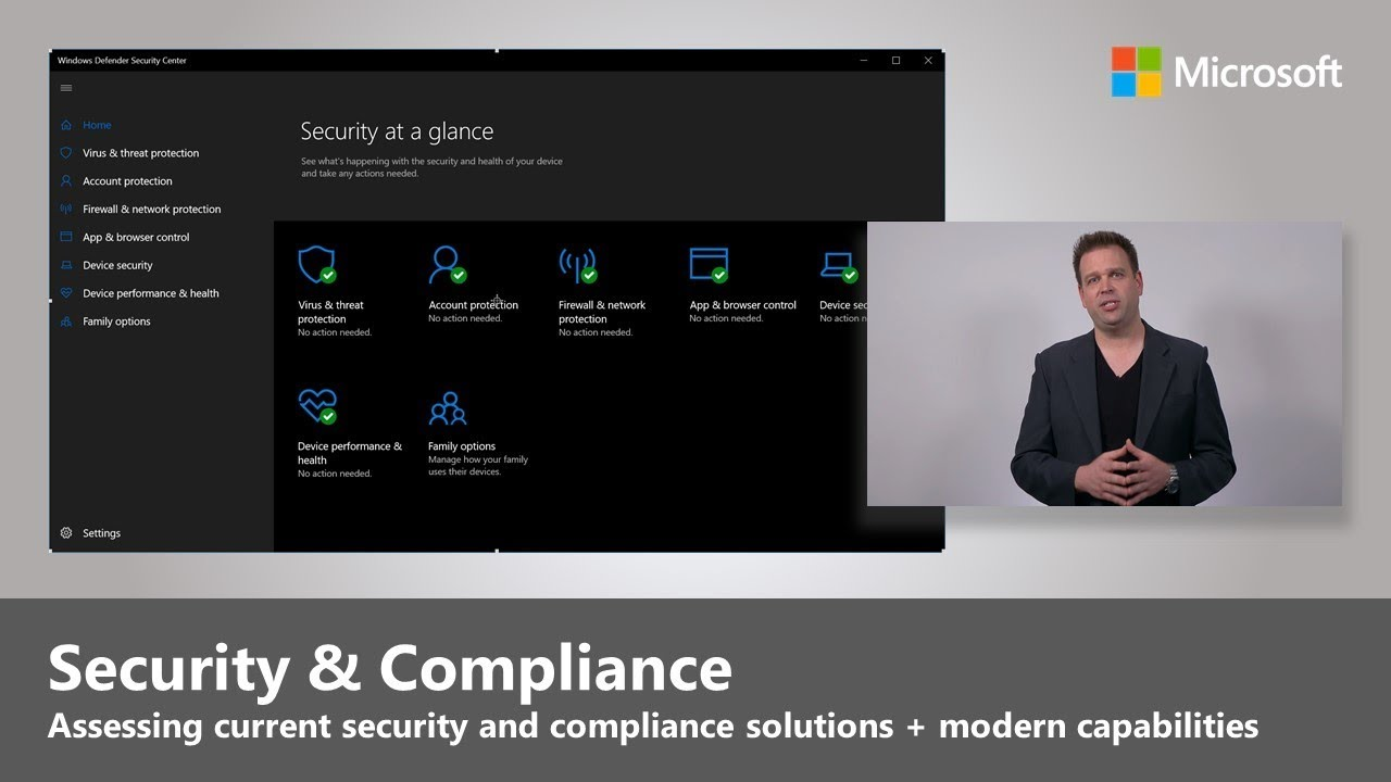 Artwork for Security and Compliance Considerations  - Step 5 of Modern Desktop Deployment