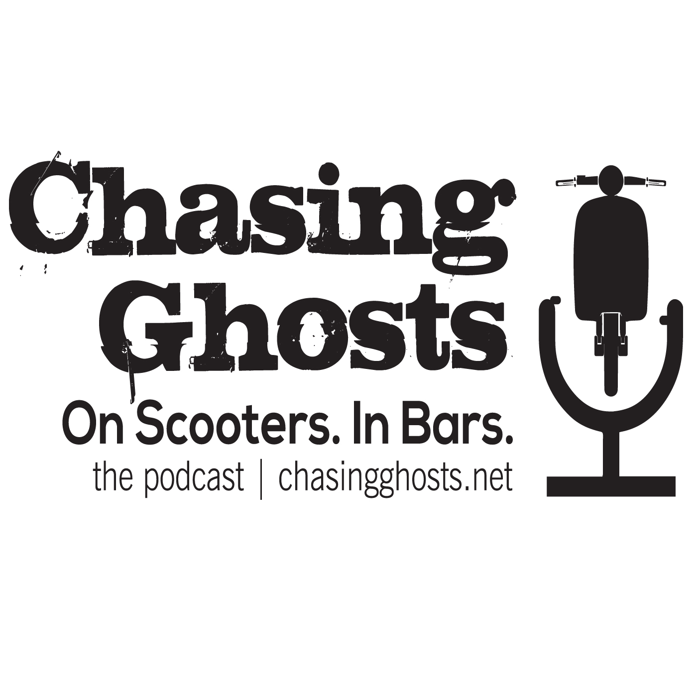 Chasing Ghosts. On Scooters. In Bars.   show art