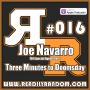 Artwork for Joe Navarro | Three Minutes to Doomsday
