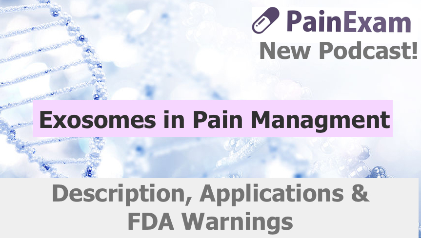 Exosomes in Pain Managment