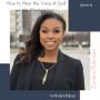 Artwork for Episode 60: How to Hear the Voice of God in the Marketplace with Zandra Robinson