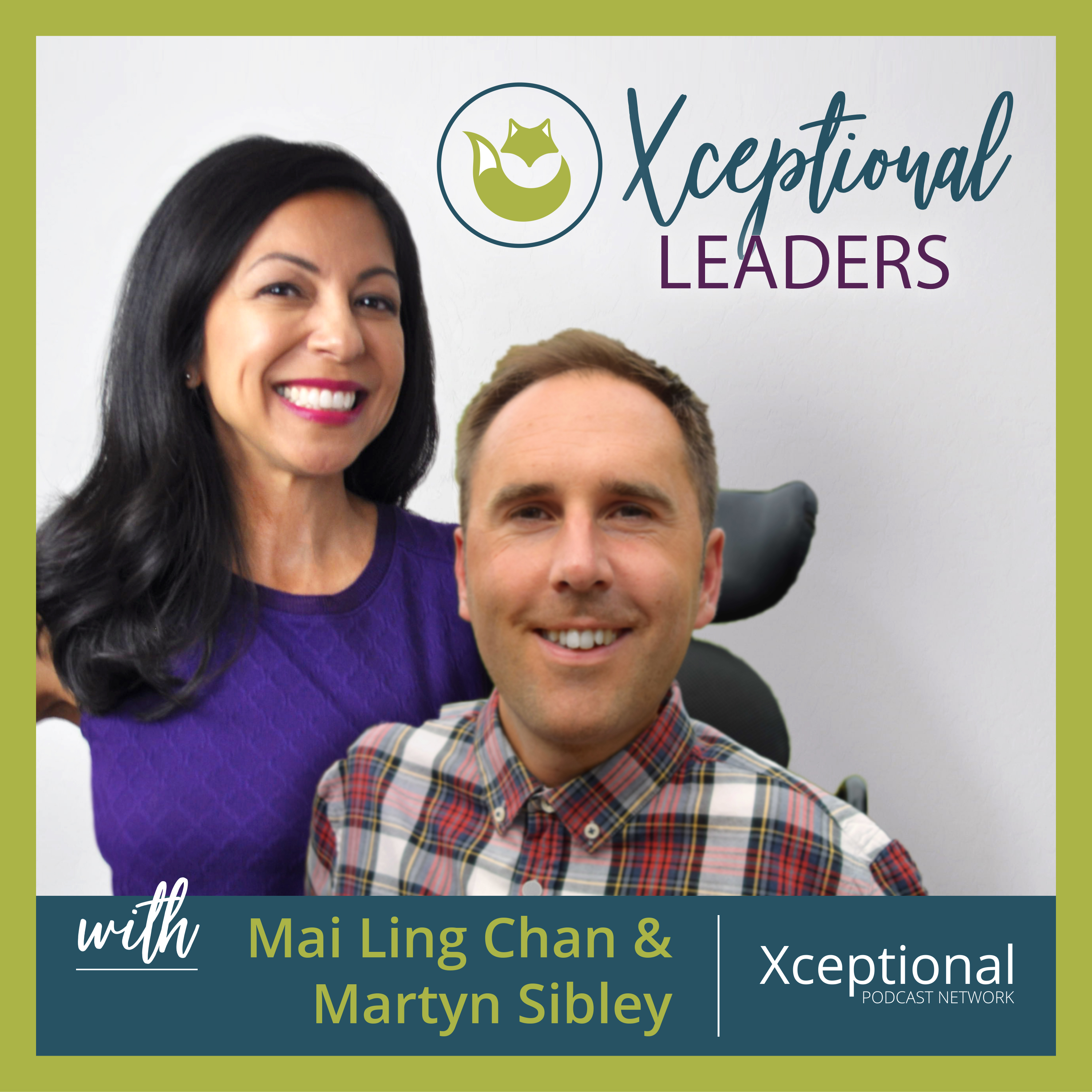 Xceptional Leaders with Mai Ling Chan & Martyn Sibley show art