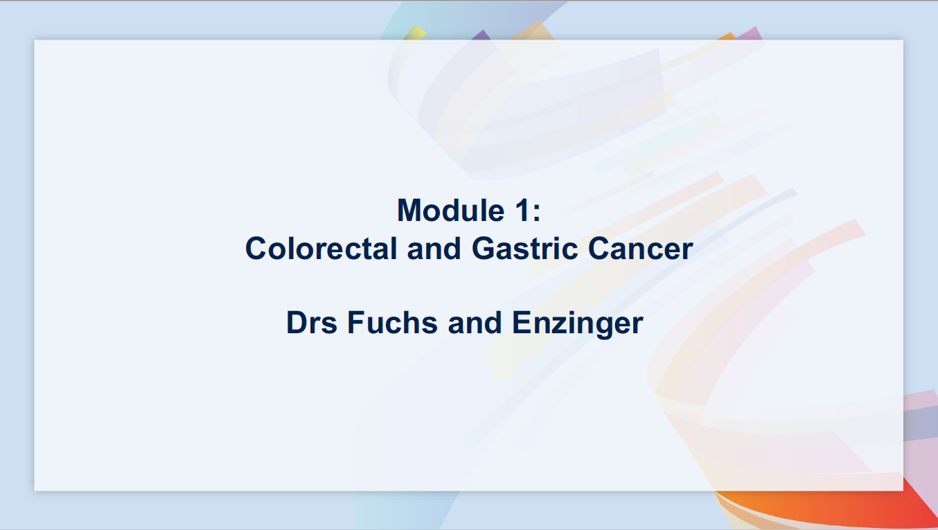 Artwork for Multitumor | Colorectal and Gastric Cancer