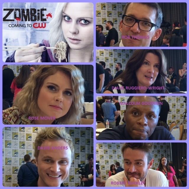 Episode 557- SDCC: iZombie w/ Rose McIver/David Anders/Malcolm Goodwin/Robert Buckley/Rob Thomas/Diane Ruggiero-Wright