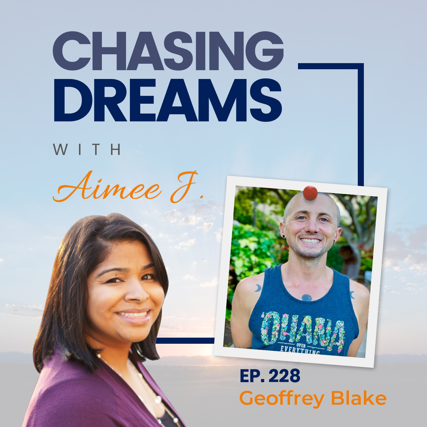 Ep. 228 - Geoffrey Blake aka GB - On How a Daily Gratitude Practice Can Change Your Life!