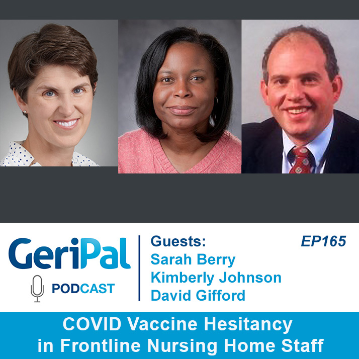 COVID Vaccine Hesitancy in Frontline Nursing Home Staff