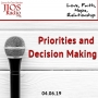 Artwork for JIOS Radio Podcast 040619 - Priorities and Decision Making