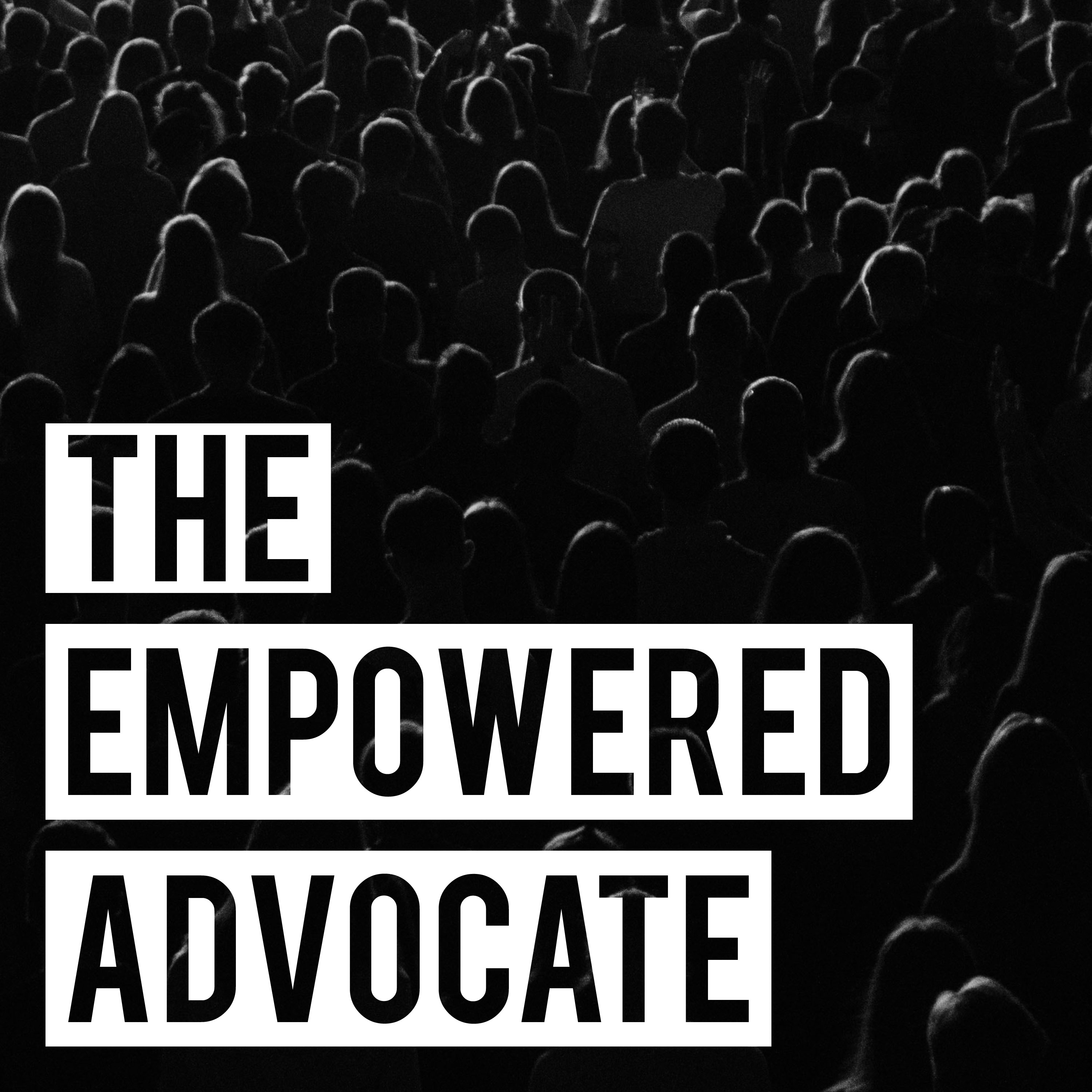 The Empowered Advocate show art