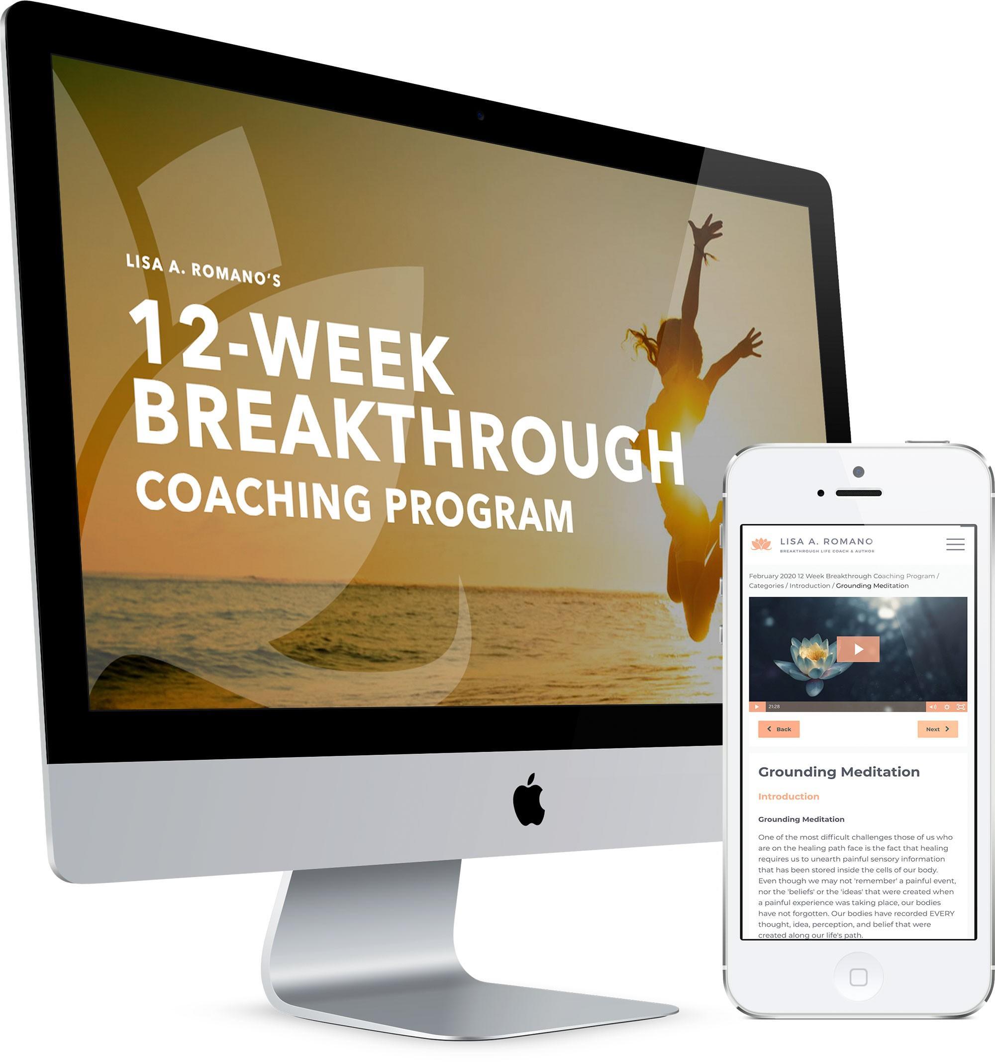12 Week Breakthrough Coaching Program