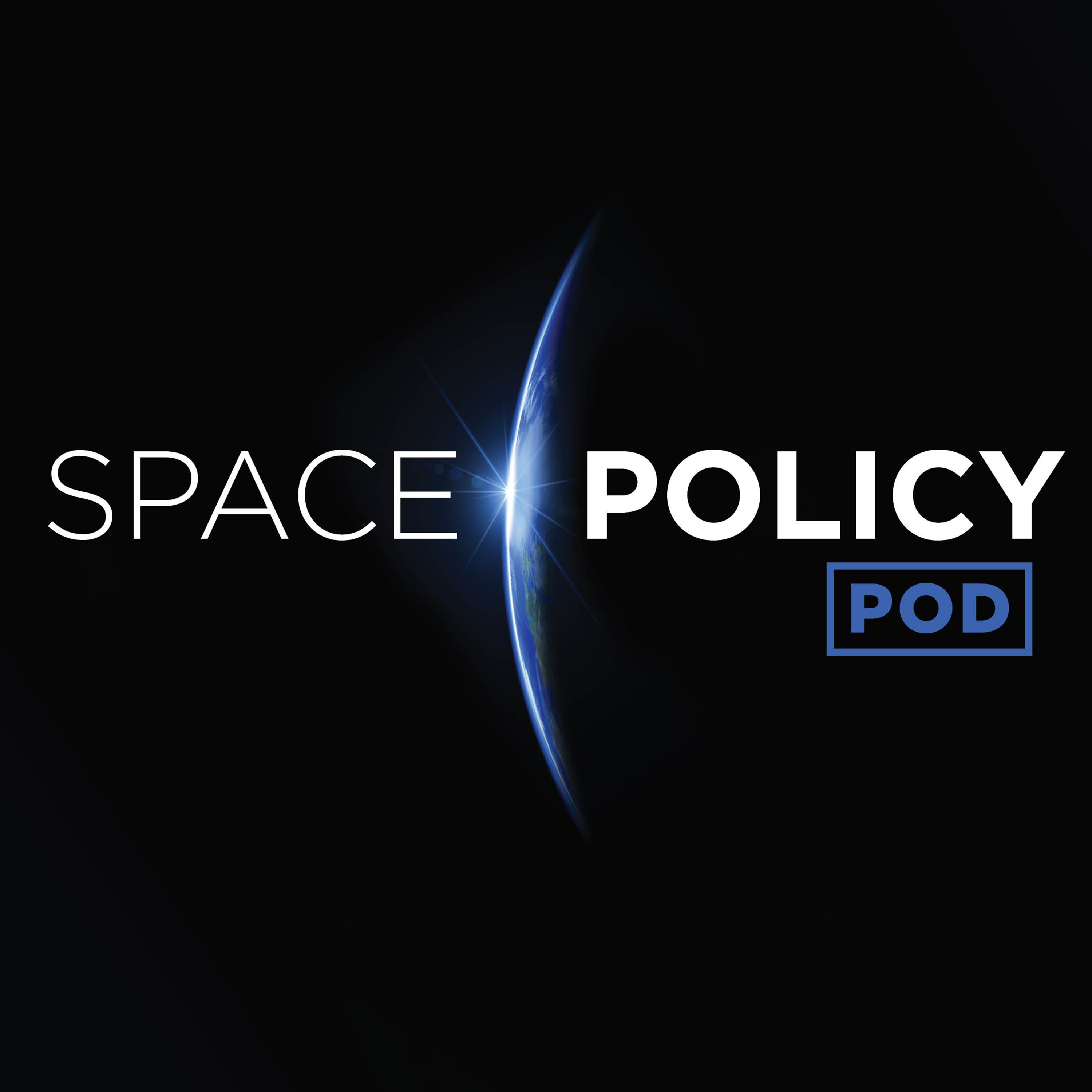 Space Policy Pod show art