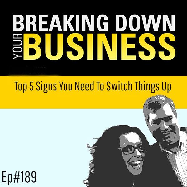 Top 5 Signs You Need To Switch Things Up w/ Niala Boodhoo