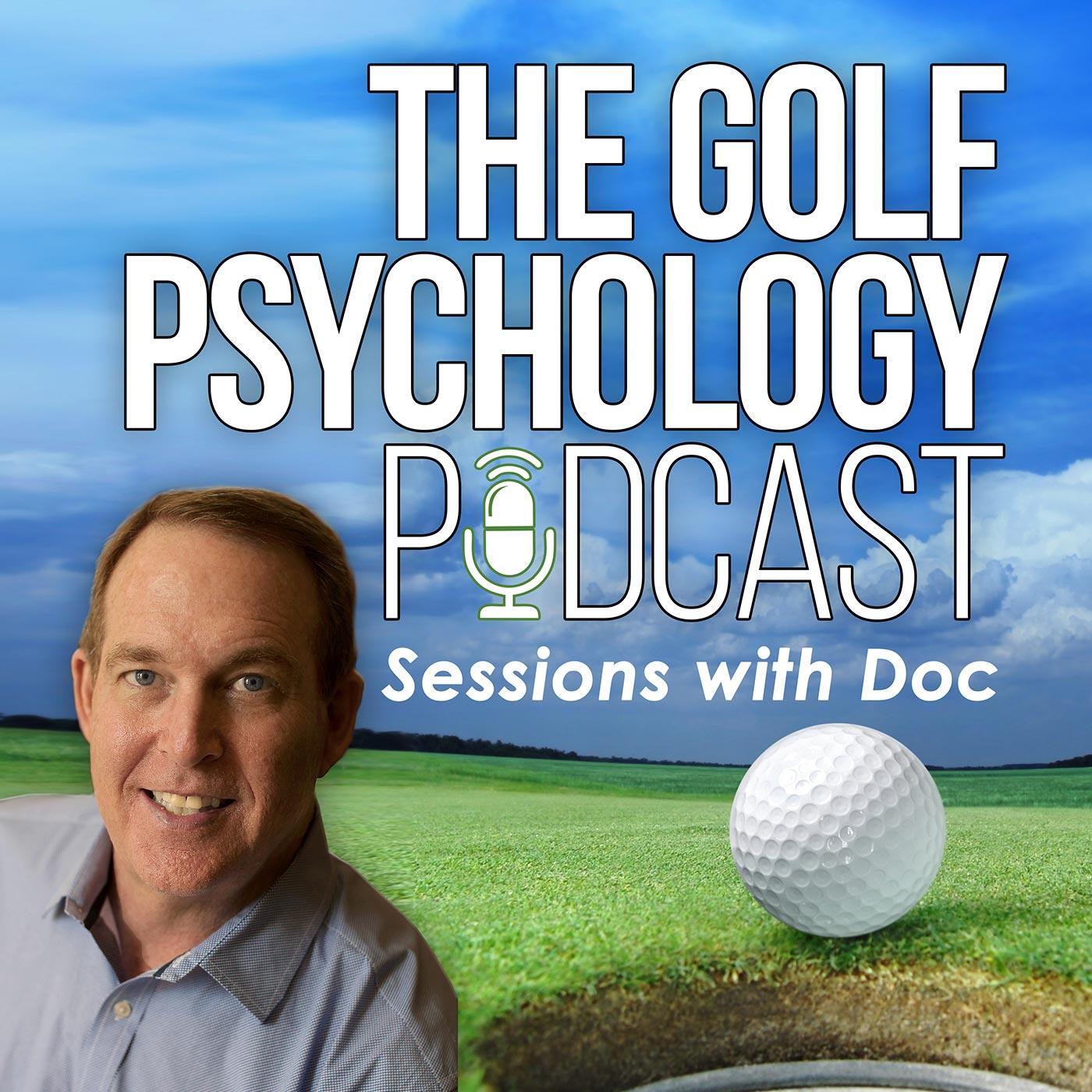 The Golf Psychology Podcast show art