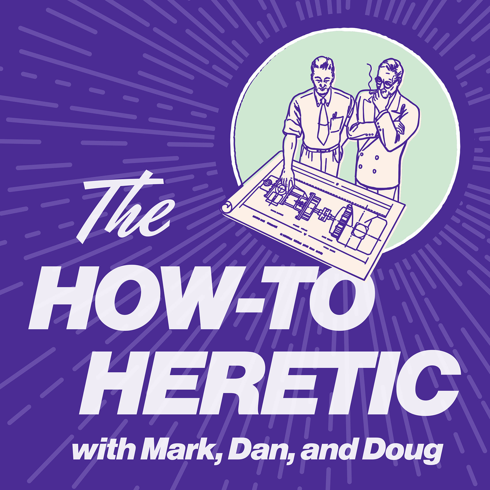 The How-To Heretic show art