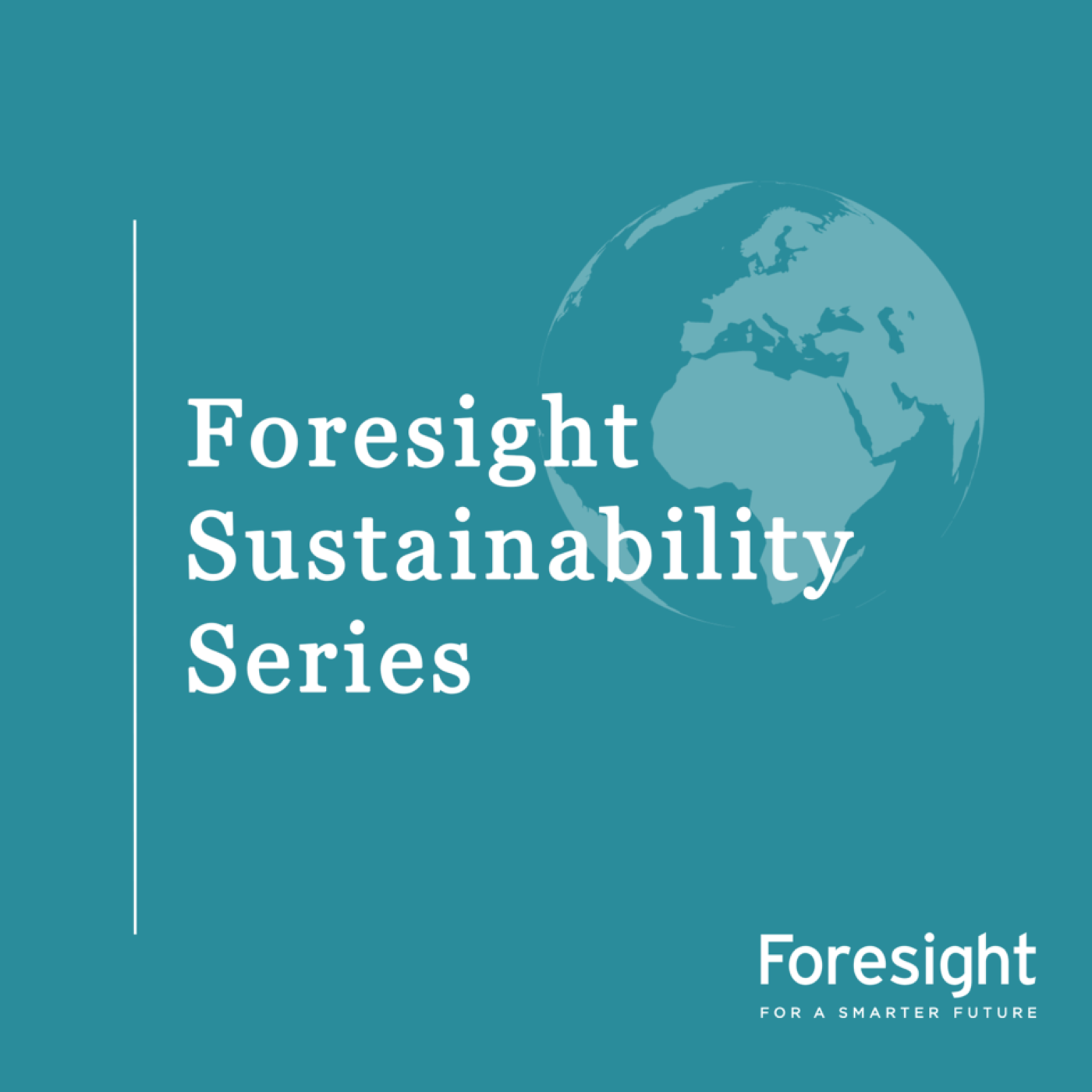 Foresight Sustainability Series show art
