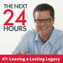 Artwork for #7: Leaving a Lasting Legacy - How to Write Your First Book