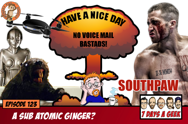 Episode 123:A Sub Atomic Ginger